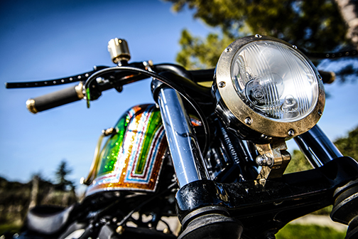 juicer custom motorcycle headlight 8