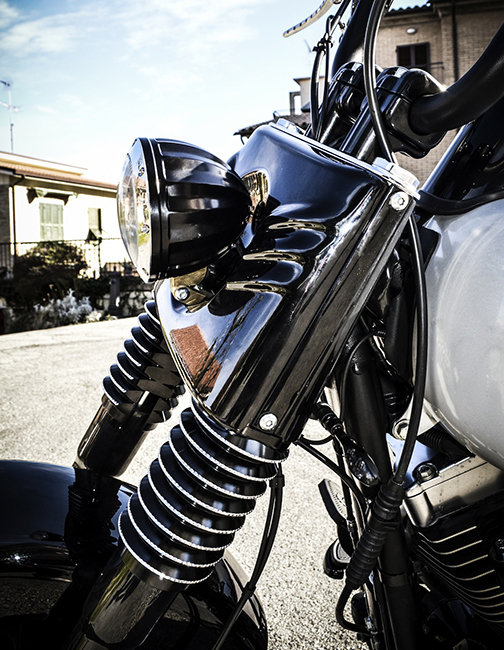 juicer custom motorcycle headlight 9