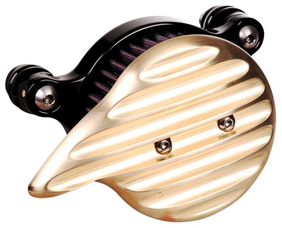 brass chopper air cleaner cover 1