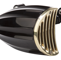 aircleaner cover juicer black and brass
