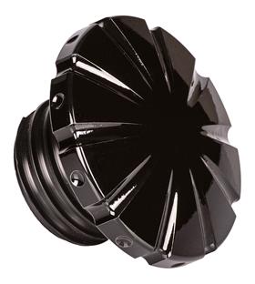 black gas cap