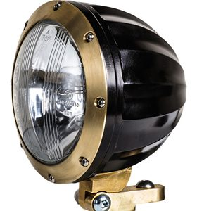 headlight juicer black and brass