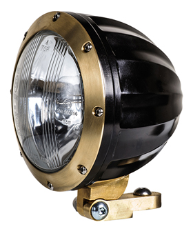 headlight juicer black and brass
