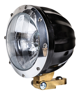 headlight juicer black and polished