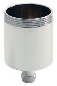 motorcycle fluid reservoir chromed 1