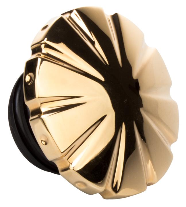 24 karat gold motorcycle gas cap