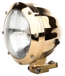 24 karat gold motorcycle headlight sm