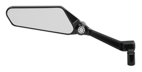 mirror blade black left for harleys
