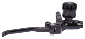 hand controls custom brake master cylinder 9/16″ – black