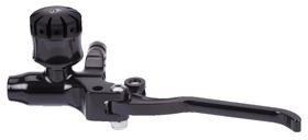 hand controls custom hydraulic clutch master cylinder – black