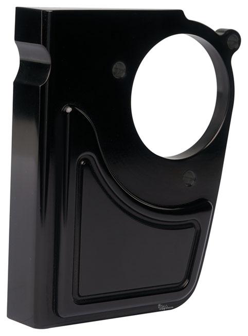 throttle servo cover for milwaukee 8 engine black