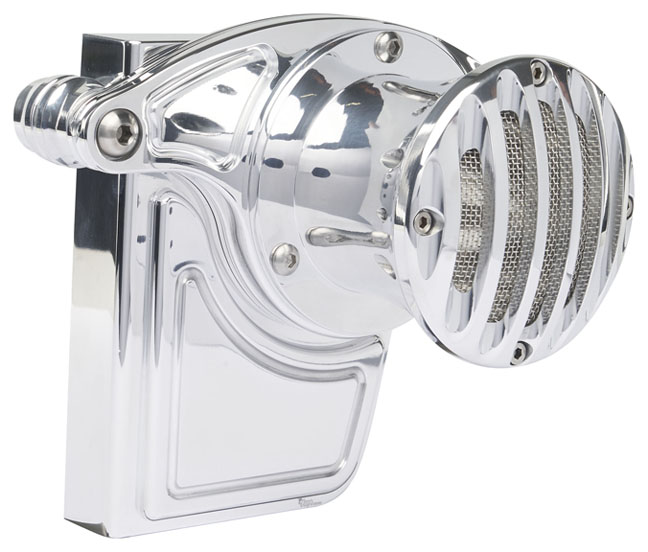 milwaukee 8 throttle servo cover polished with velocity stack