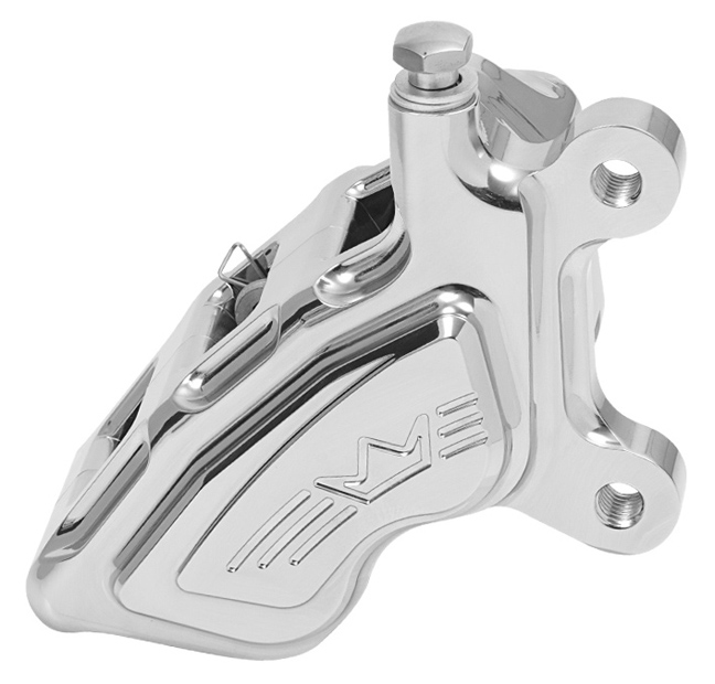 4-piston brake caliper Kalipso for 2000-17 models right – chromed