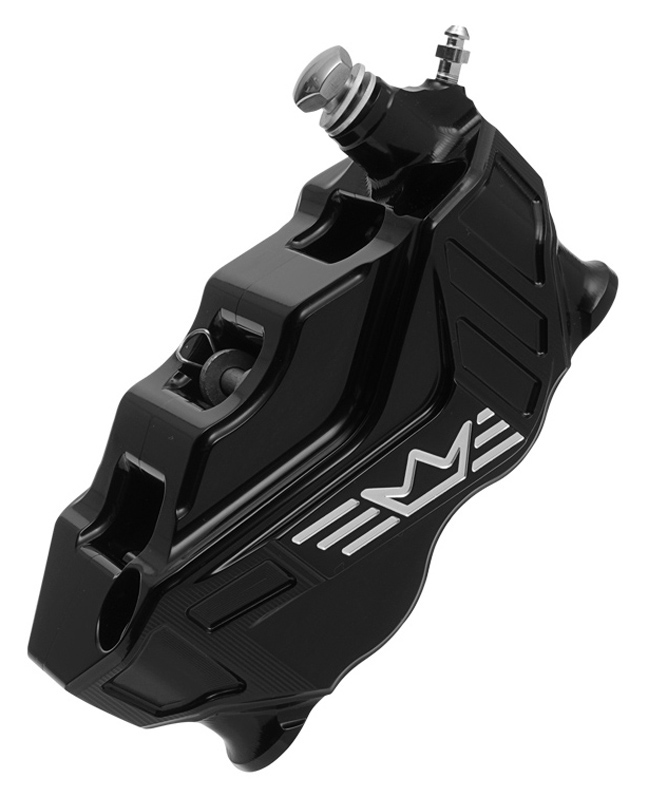 4-piston radial brake caliper RR108 right – black