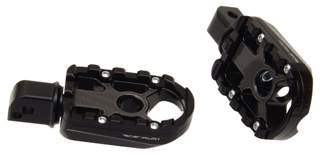 footpegs wheelie for passenger on Milwaukee Eight softail – black