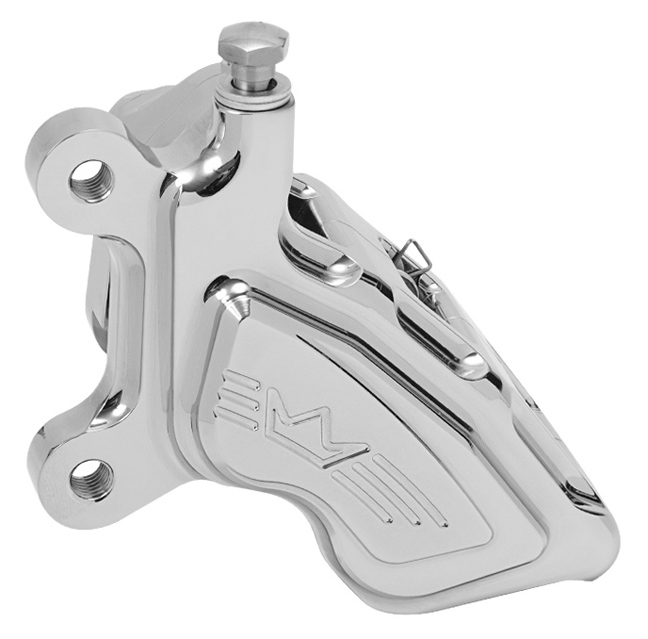 4-piston brake caliper Kalipso for 2000-17 models left – chromed