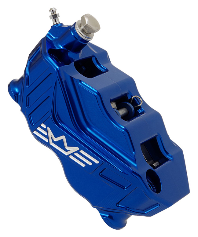 4-piston radial brake caliper RR108 left – blue
