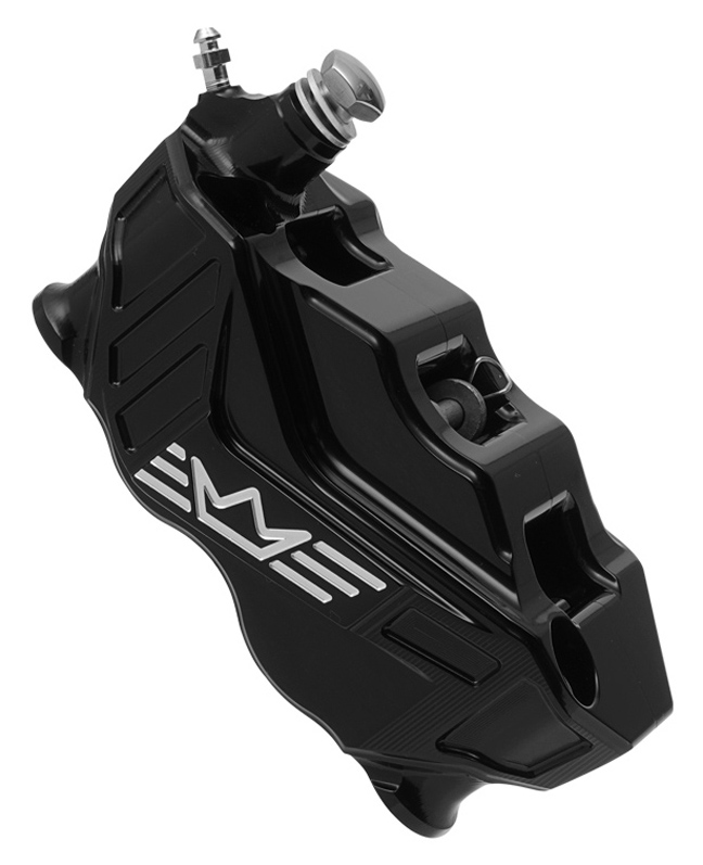 4-piston radial brake caliper RR108 left – black