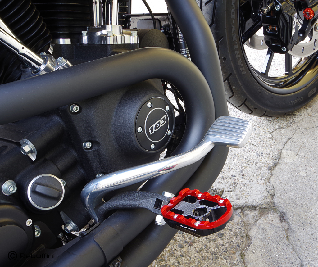 wheelie motorcycle foot pegs 7
