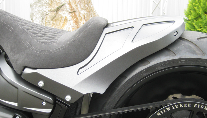 Milwaukee Billet Aluminum Rear Fender
