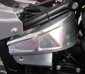 frame panels billet aluminum for 2018-up Milwaukee 8 Harley's