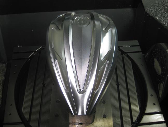 billet aluminum milwaukee gas tank 12