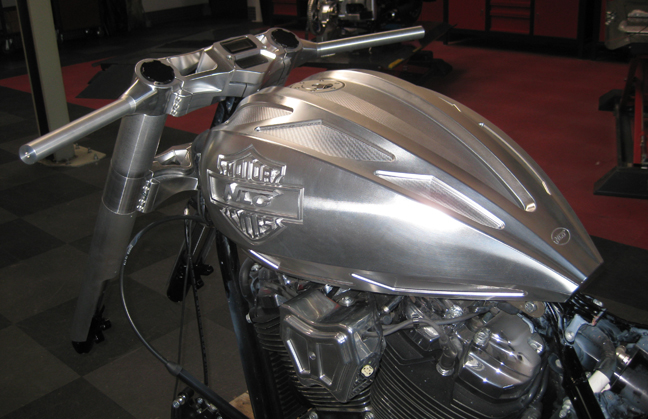 billet aluminum milwaukee gas tank 4