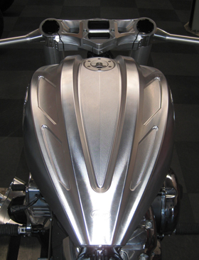 Milwaukee Billet Aluminum Gas Tank