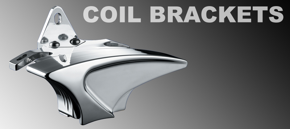 Motorcycle Coil Brackets & Motorcycle Coil Covers