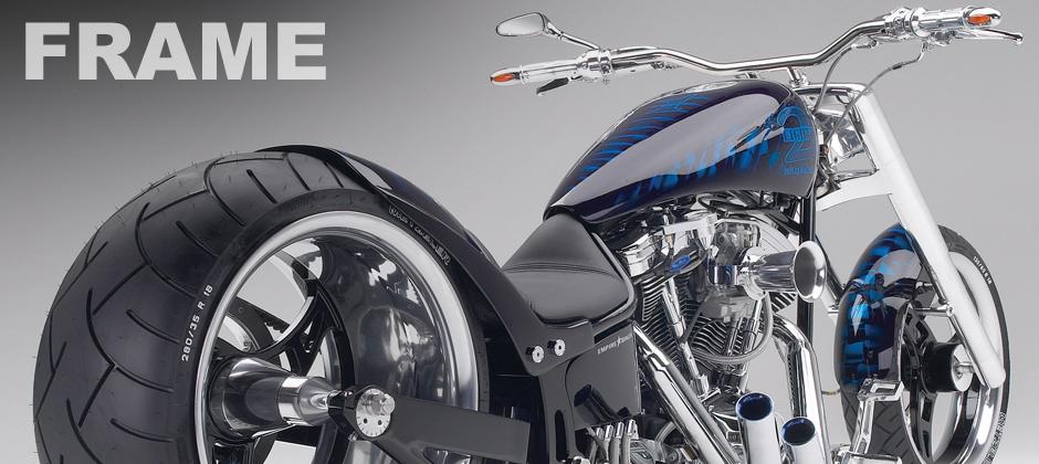custom motorcycle frame