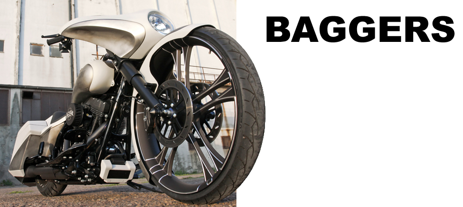 custom motorcycle parts for baggers
