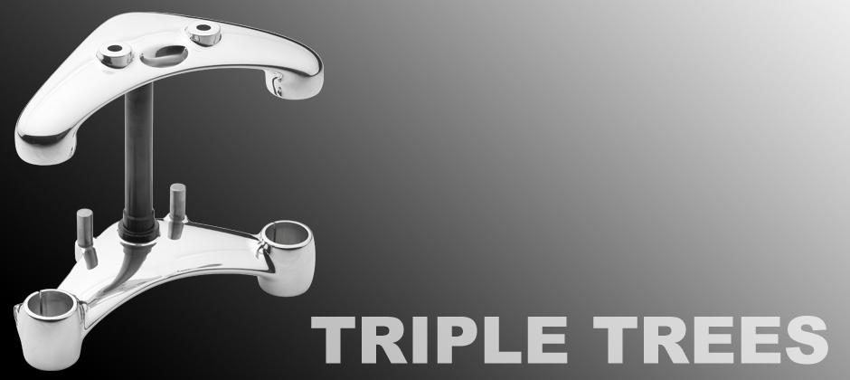 Raked Triple Trees & Adjustable Triple Trees