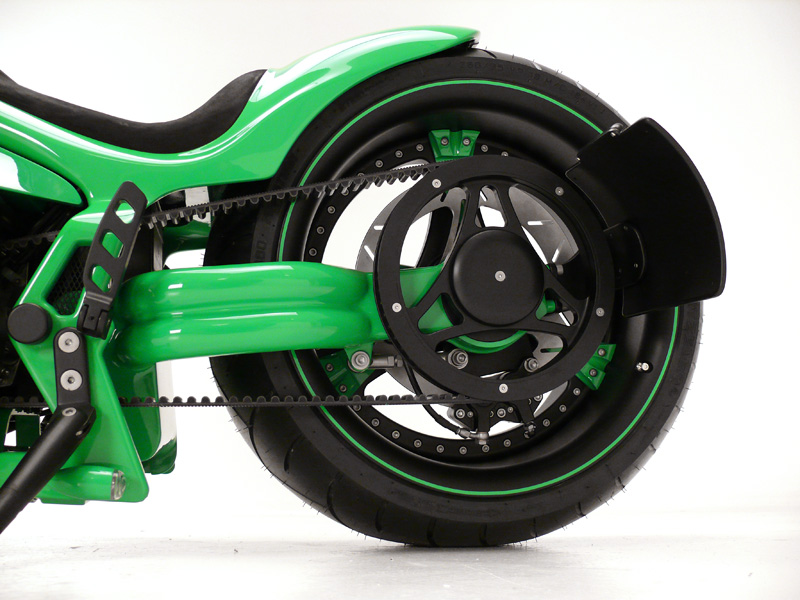 le mans single sided swingarm for harleys