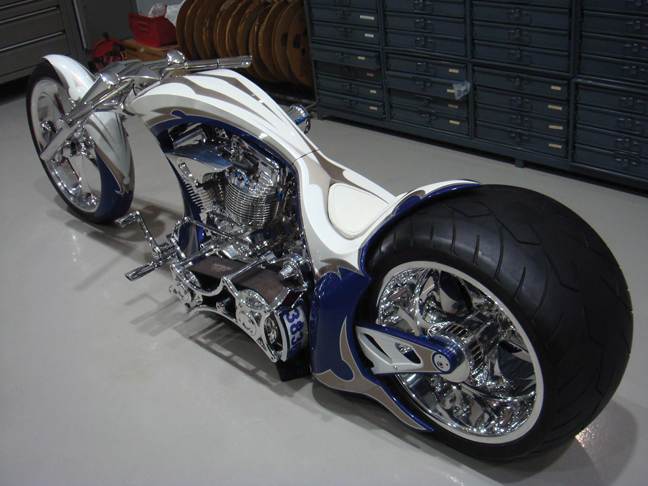 Bahrein Custom Motorcycle Chopper