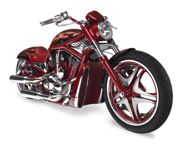 Red Custom V-Rod