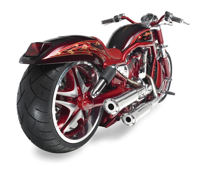 red custom v rod_4