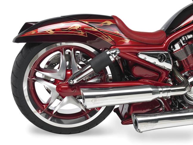 red custom v rod_5