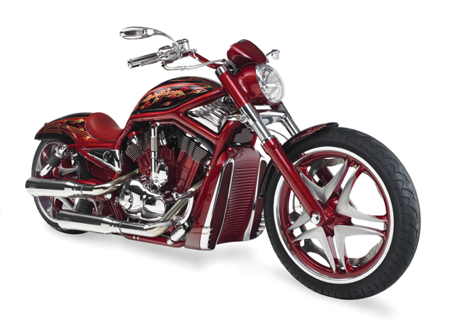 red custom v rod_8