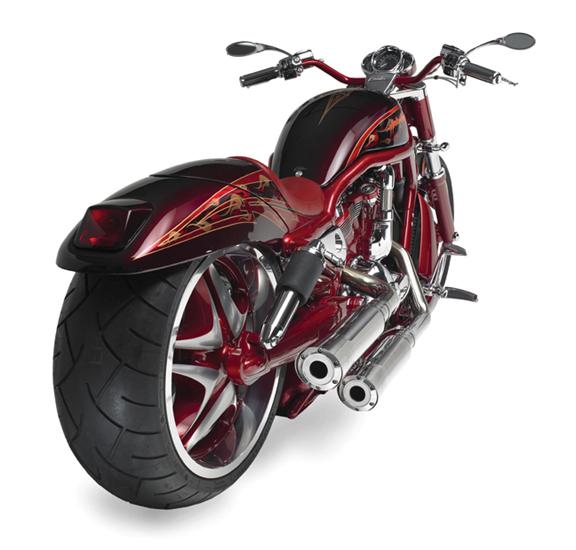 red custom v rod_9
