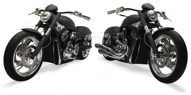 Twin V-Rod's