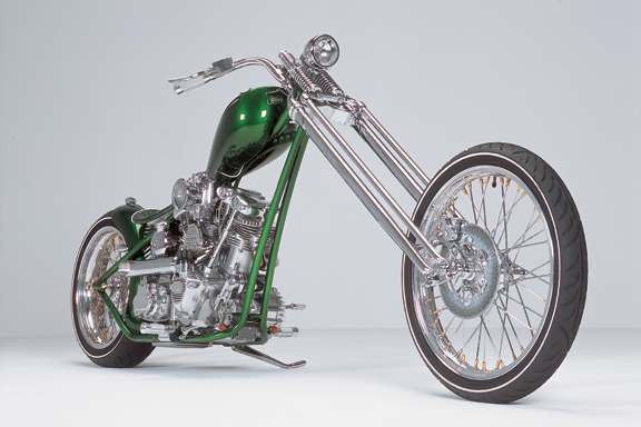 Viridian Custom Chopper
