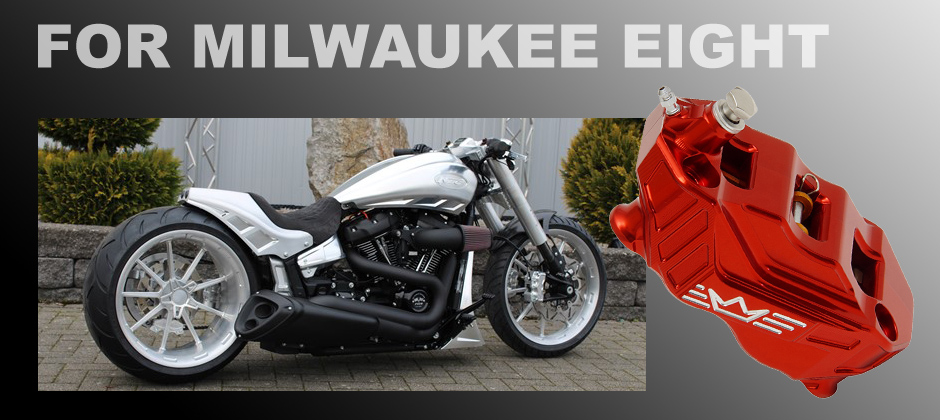 Parts for Milwaukee Eight Harley's