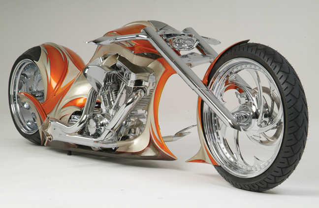 Spectacula Custom Motorcycle