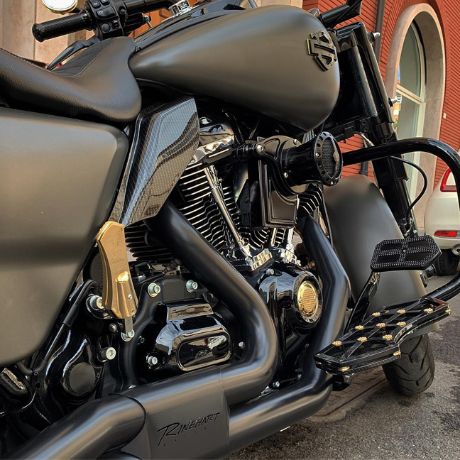 velocity stack and servo cover milwaukee eight