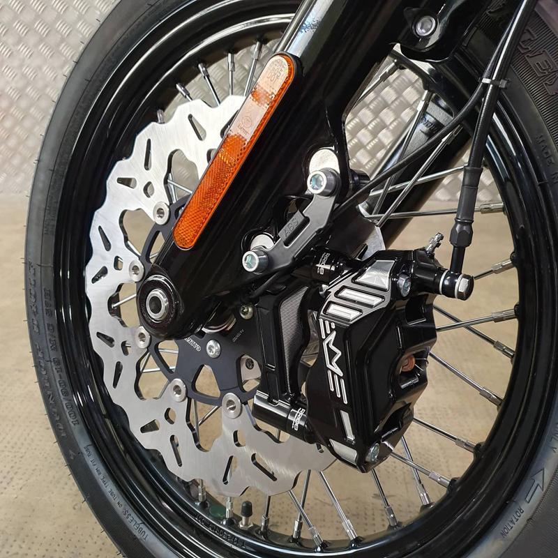 black brake rotors