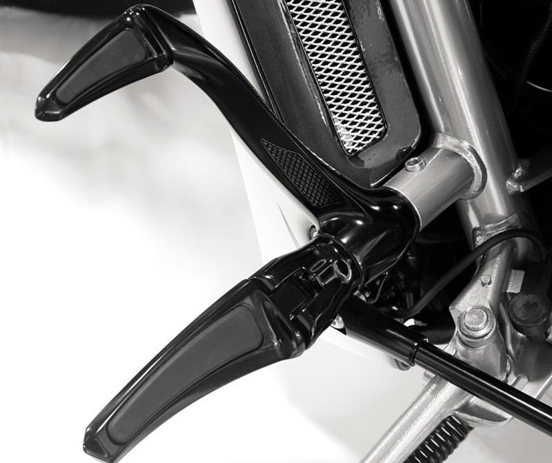 forward controls speedster for 2006-11 v-rods (except vrscr and vrscd) black