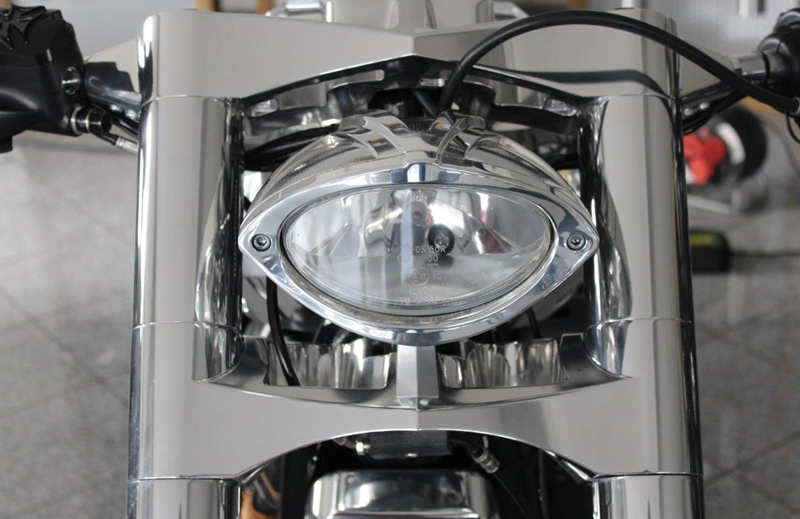 custom motorcycle headlight