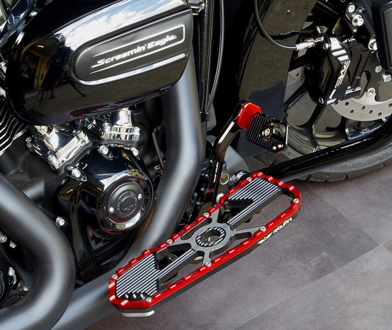dresser brake arm and pedal for harleys
