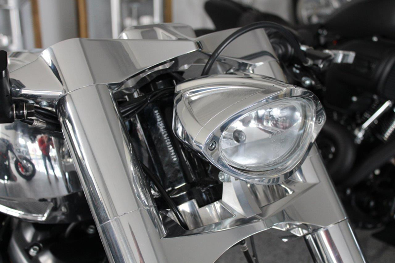 harley m8 headlight