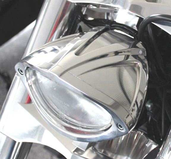 3D Eclipse Motorcycle Headlight